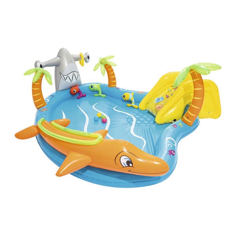 5. Bể bơi phao cầu trượt đại dương Bestway 53067
