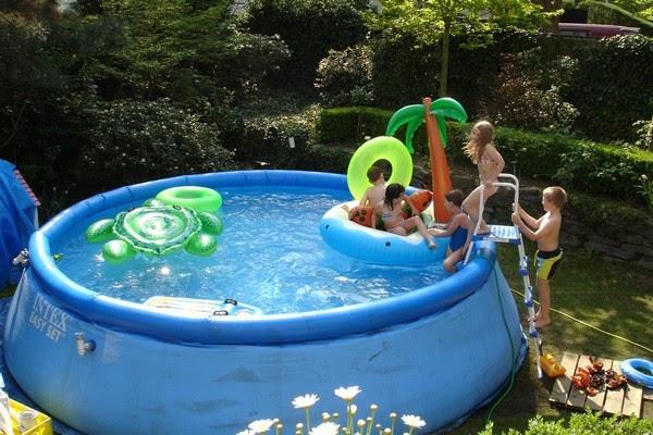 Bể bơi phao gia đình