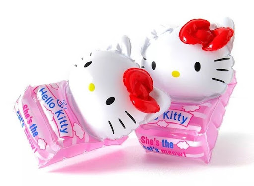 Phao bơi tay Hello Kitty